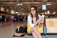 Concept de transports aériens et technologie moderne Image libre de droits
