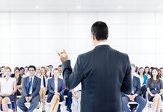 Concept de travail d'équipe d'affaires de conférence de séminaire de réunion Photo stock