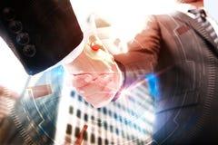 Concept de travail d'équipe et d'innovation Image stock