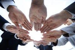 Concept de travail d'équipe et d'unité Photo libre de droits
