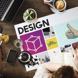 Concept de travail d'innovation de simplicité de Coffe images stock