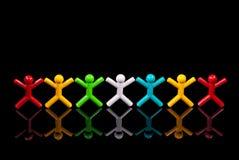 Concept de travail d'équipe. Image libre de droits