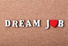 Concept de travail rêveur Photo libre de droits