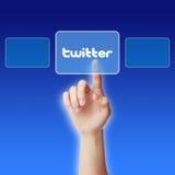 Concept de Twitter photos libres de droits