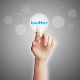 Concept de Twitter images libres de droits