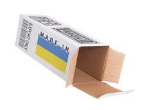 Concept de uitvoer - Product van de Oekraïne Stock Foto's