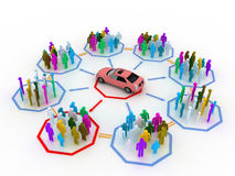 Concept de véhicule Photo stock