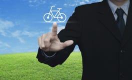 Concept de vélo de service aux entreprises Photographie stock