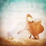 Concept de vacances d'été Photo libre de droits