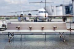 Concept de vacances d'été, refuge de terminal d'aéroport Photo libre de droits
