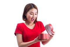 Concept de vacances, d'amour et de bonheur Belle fille asiatique avec Photos libres de droits