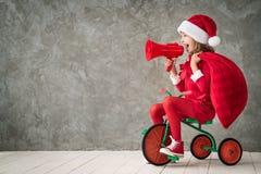 Concept de vacances d'hiver de Noël de Noël images libres de droits