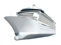 Concept de vacances d'océan de vacances de voyage de bateau de croisière Photos stock
