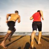 Concept de vacances de vacances d'amitié de plage d'été Photos stock