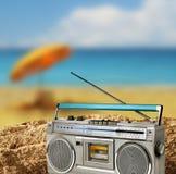 Concept de vacances de vitesse de plage de vintage photo libre de droits