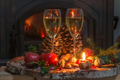 Concept de vacances de Noël et de nouvelle année photographie stock