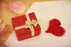Concept de Valentine avec des coeurs Photos stock
