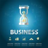 Concept de vecteur d'affaires Photo stock