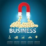 Concept de vecteur d'affaires Image libre de droits