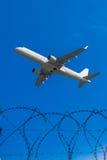 Concept: De Veiligheid van de luchtreis royalty-vrije stock foto