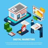 Concept de vente de Digital Illustration Libre de Droits