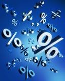 Concept de ventes de pourcentage Photographie stock libre de droits