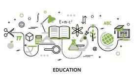 Concept de verdure du processus d'éducation Image stock