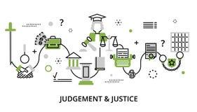 Concept de verdure de procédé de jugement Photo libre de droits