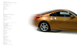 Concept de véhicule rapide Photos stock
