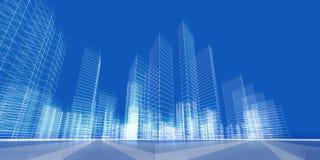 Concept de ville Photos libres de droits