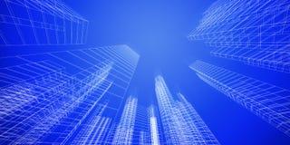 Concept de ville Image libre de droits