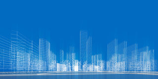 Concept de ville Photographie stock libre de droits