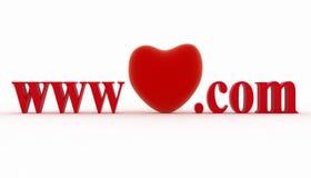 Concept de visiter la page préférée du site Web Image libre de droits