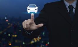 Concept de voiture de service aux entreprises Photo libre de droits