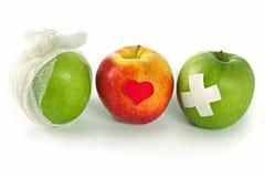 Concept de volksgezondheidsdiensten en gezonde manier van het leven Royalty-vrije Stock Foto's