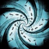 Concept de vortex de temps Photographie stock