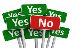 Concept de vote Image libre de droits