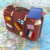 Concept de voyage Images stock