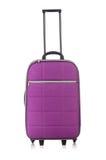 Concept de voyage avec le suitacase de bagage Image libre de droits