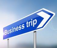 Concept de voyage d'affaires Images libres de droits