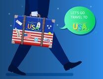 Concept de voyage ou d'anglais d'étude Image stock