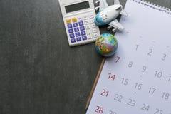Concept de voyage de vacances de voyage et de longue planification de week-end Image libre de droits