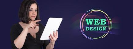 Concept de web design photos stock