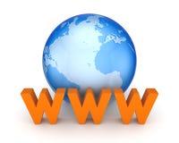 Concept de WWW. Photographie stock libre de droits