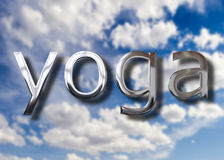 Concept de yoga Photo stock