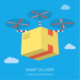 Concept for delivery service Royalty Free Stock Image