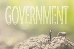 Concept of democracy Royalty Free Stock Images