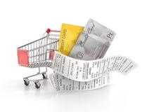 Concept des achats illustration libre de droits