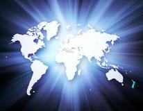 Concept des affaires globales de série de concepts Images stock