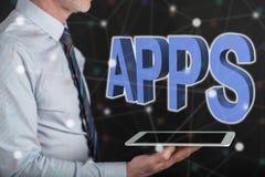 Concept des apps Image libre de droits